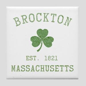 Brockton Massachusetts Tile Coaster