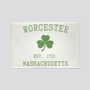 Worcester Massachusetts Rectangle Magnet