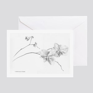 Moth Orchid Greeting Card