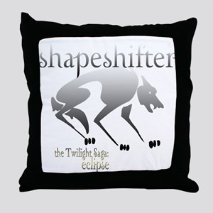 Twilight Eclipse Shape Shifte Throw Pillow