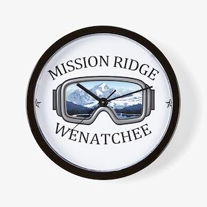 Mission Ridge Ski Area - Wenatchee - Wall Clock