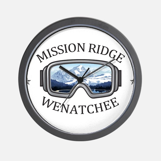 Mission Ridge Ski Area - Wenatchee - Wall Clock