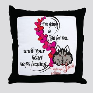 Jacob's Heart by UTeezSF.com Throw Pillow