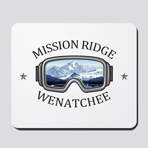 Mission Ridge Ski Area - Wenatchee - W Mousepad