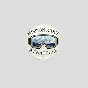 Mission Ridge Ski Area - Wenatchee - Mini Button