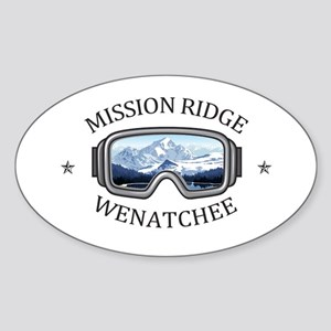 Mission Ridge Ski Area - Wenatchee - Was Sticker