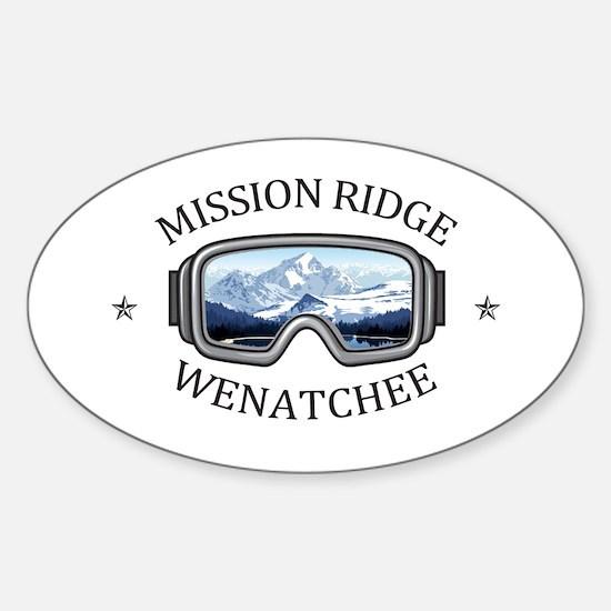 Mission Ridge Ski Area - Wenatchee - Was Decal
