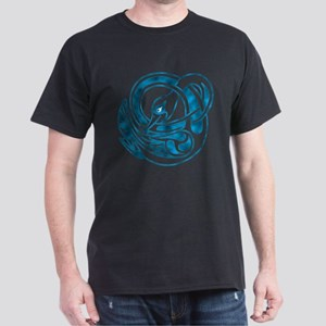 Grey Goose Celtic Knot T-Shirt - Black/Turquoise