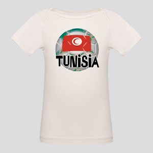 Tunisia Soccer Organic Baby T-Shirt