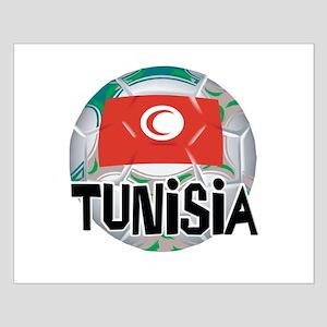 Tunisia Soccer Small Poster