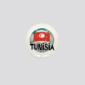 Tunisia Soccer Mini Button
