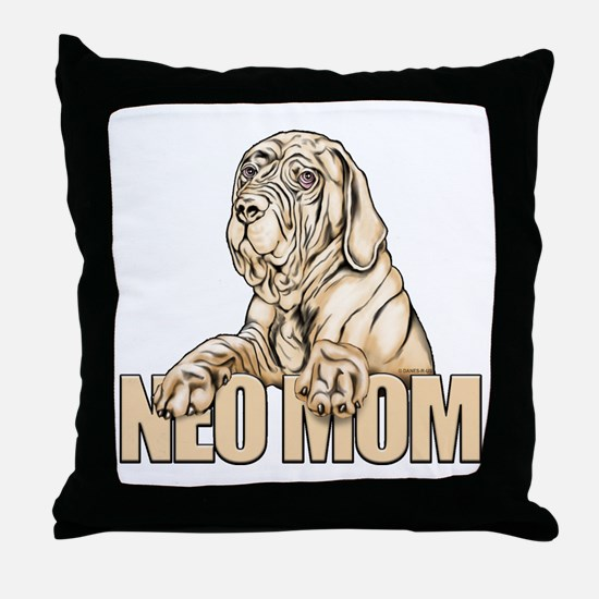 Neo Mom Tawny UC Throw Pillow