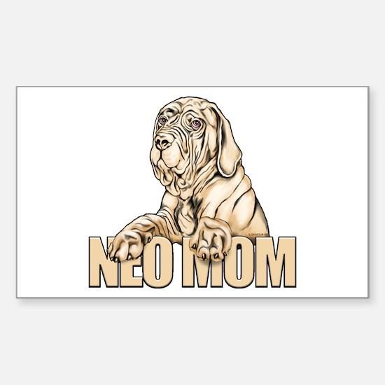 Neo Mom Tawny UC Sticker (Rectangle)