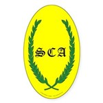 SCA Sticker (Oval 50 pk)