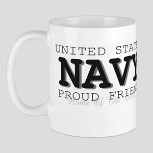 Proud Navy Friend Mug
