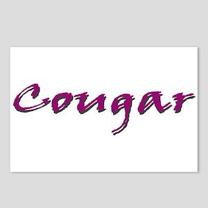 Cougar Violet Postcards (Package of 8)