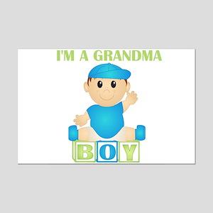 I'm A Grandma (PB:blk) Mini Poster Print