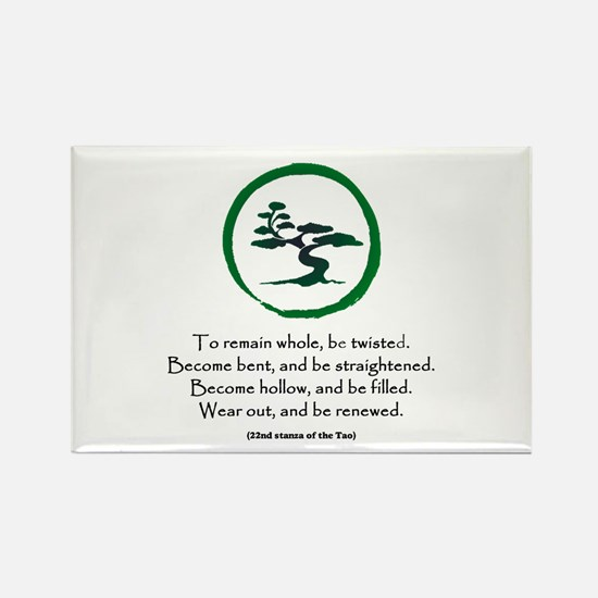 The Tao of the Tree Rectangle Magnet