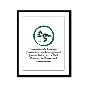 The Tao of the Tree Framed Panel Print