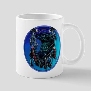 Black Eagle_Dreamcatcher Framed Mug