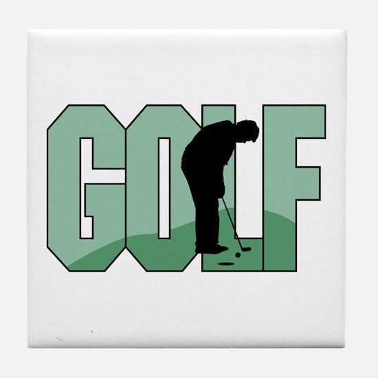 GOLF *1* Tile Coaster