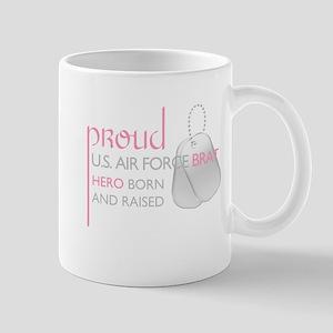 Proud U.S. Air Force Brat (pi Mug
