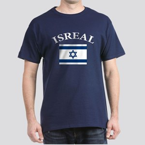 I love Isreal Dark T-Shirt