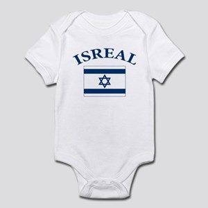 I love Isreal Infant Bodysuit