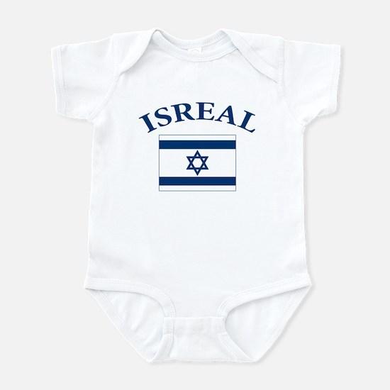 I love Isreal Infant Bodysuit