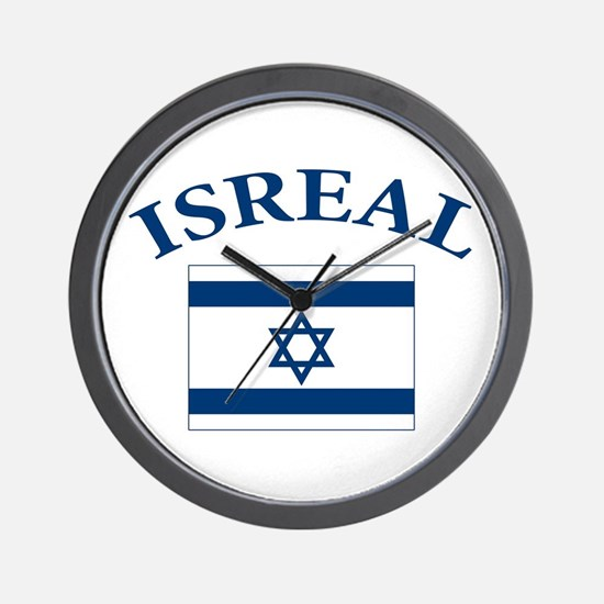 I love Isreal Wall Clock