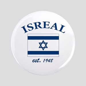 "I love Isreal 3.5"" Button"