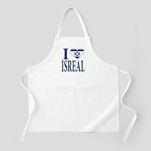 I love Isreal BBQ Apron