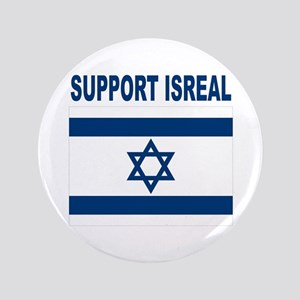"Peace for Isreal 3.5"" Button"