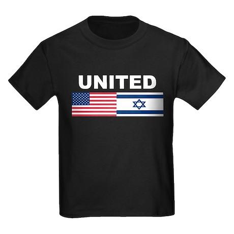 Support Isreal Kids Dark T-Shirt