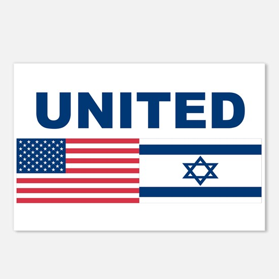Support Isreal Postcards (Package of 8)
