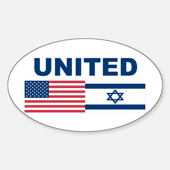 Support Isreal Sticker (Oval)