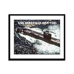 USS ASHEVILLE Framed Panel Print