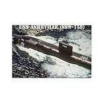 USS ASHEVILLE Rectangle Magnet