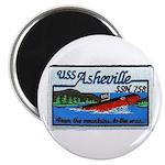 USS ASHEVILLE Magnet
