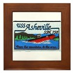 USS ASHEVILLE Framed Tile