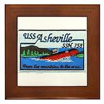 USS ASHEVILLE Framed Tile