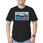 USS ASHEVILLE Men's Fitted T-Shirt (dark)