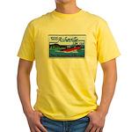 USS ASHEVILLE Yellow T-Shirt