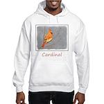 Cardinal on Branch Hooded Sweatshirt