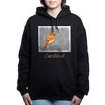Cardinal on Branch Women's Hooded Sweatshirt