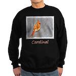 Cardinal on Branch Sweatshirt (dark)