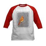 Cardinal on Branch Kids Baseball Jersey