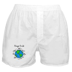 Things To Do Globe Gear Boxer Shorts