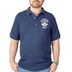 I Survived The Area 51 Storm Dark Polo Shirt