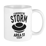 I Survived The Area 51 Storm Mugs